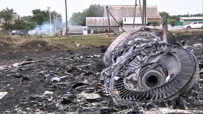 Boeing упал на Украине из-за внешних факторов, технических проблем не было - эксперты. Скриншот видео.