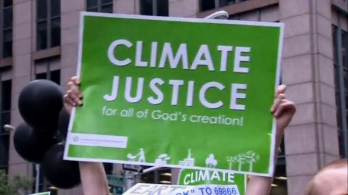 Международный день борьбы с изменениями климата собрал рекордное число участников. Скриншот видео.
