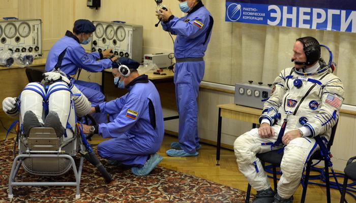 Международный экипаж космонавтов отправился с Байконура на МКС