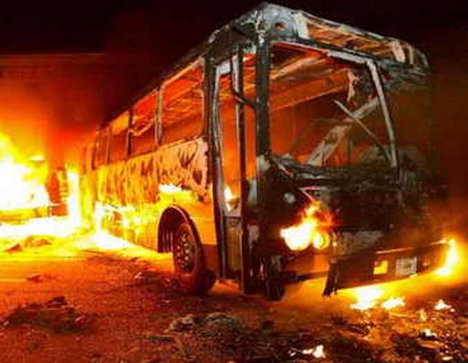 автобус, Гвинея, взрыв