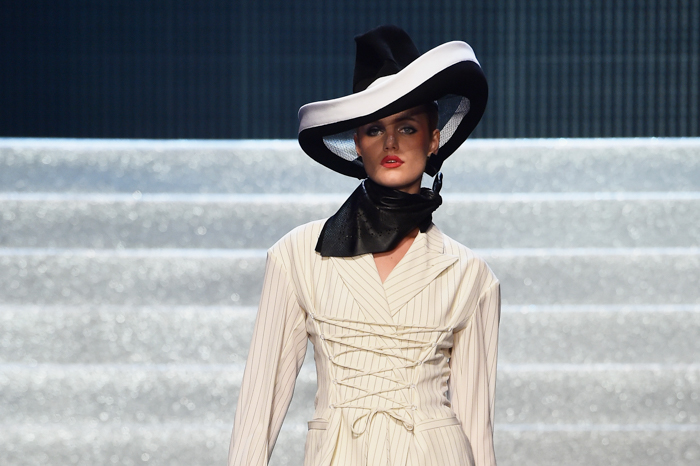Jean Paul Gaultier : Runway - Paris Fashion Week Womenswear Spring/Summer 2015