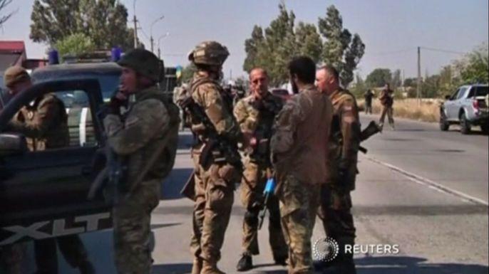 НАТО создаст силы быстрого реагирования в Европе. Скриншот видео.