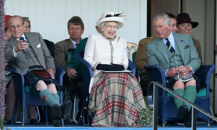 Елизавета II, Шотландия, знаменитости