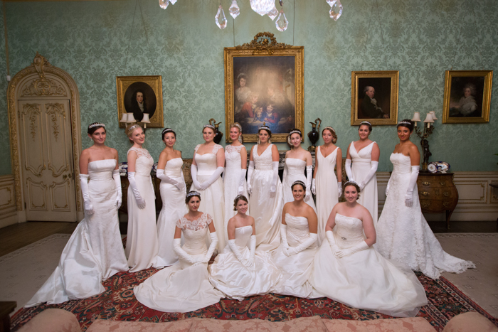 бал, знаменитости, невесты