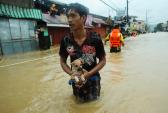 наводнение, Филиппины, стихия