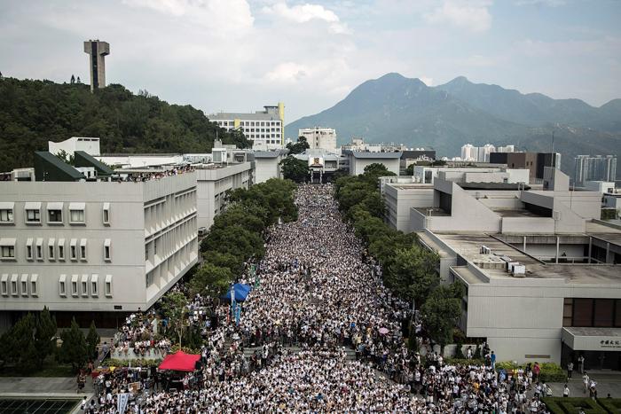 Китай, Гонконг, демократия