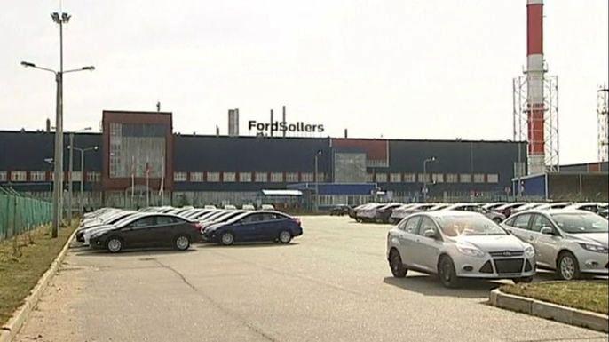 Российскому авторынку грозит значительный спад, - глава Ford Sollers. Скриншот видео.