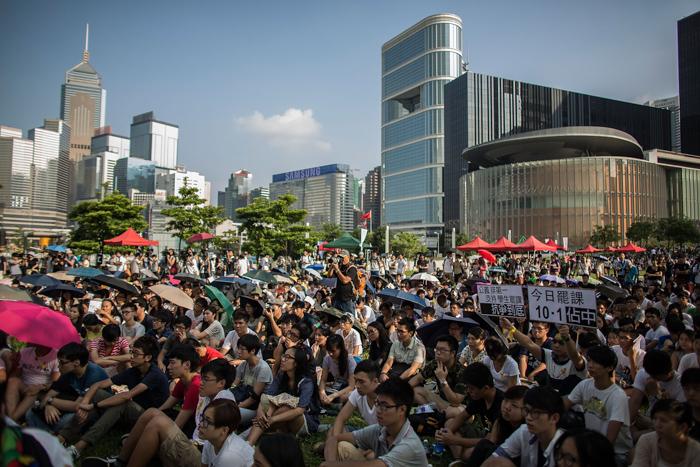 Гонконг, Китай, демократия
