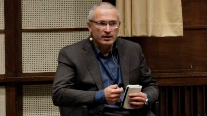 Михаил Ходорковский.  Скриншот видео.