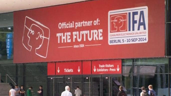 В Германии открывается крупнейшая выставка потребительской электроники (видео)