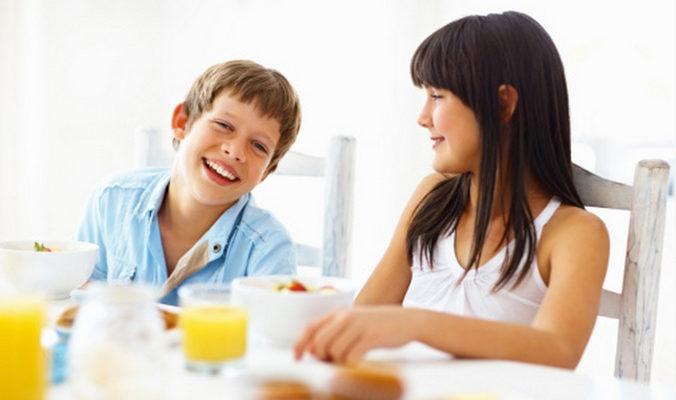 Завтрак снижает риск развития сахарного диабета у детей