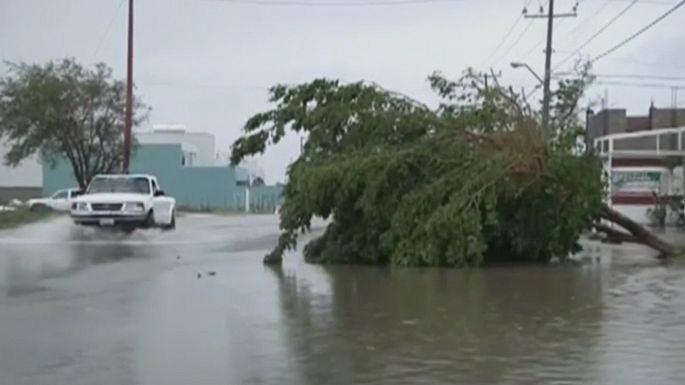 Тропический шторм Одиль обрушился на побережье Мексики