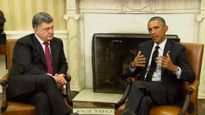 Президент США настаивает на мирном урегулировании конфликта на Украине