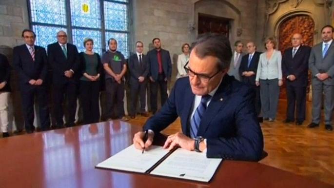 Глава Каталонии объявил о проведении референдума о независимости