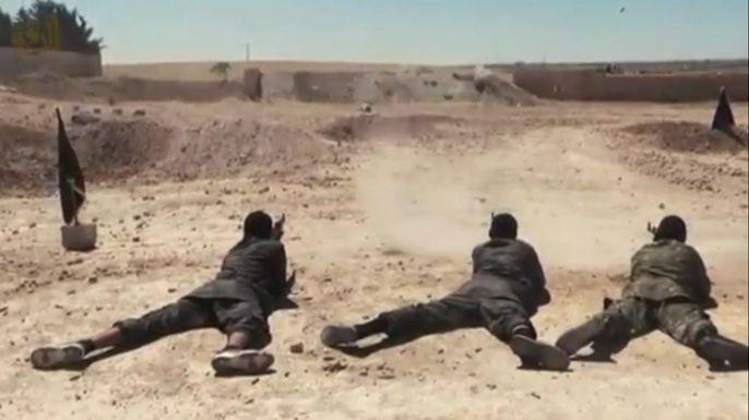"""Группировка """"Исламское государство"""" распространила вербовочное видео. Скриншот видео."""