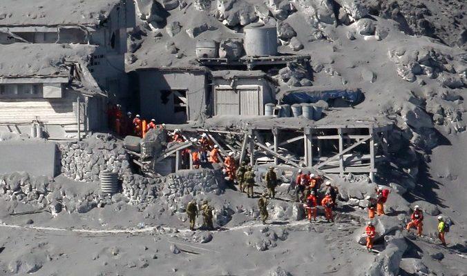 В Японии отмечено повышение вулканической активности в горах Кирисима