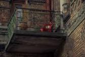 Москва, балкон, обрушение