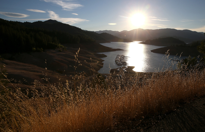 Калифорния, США, засуха