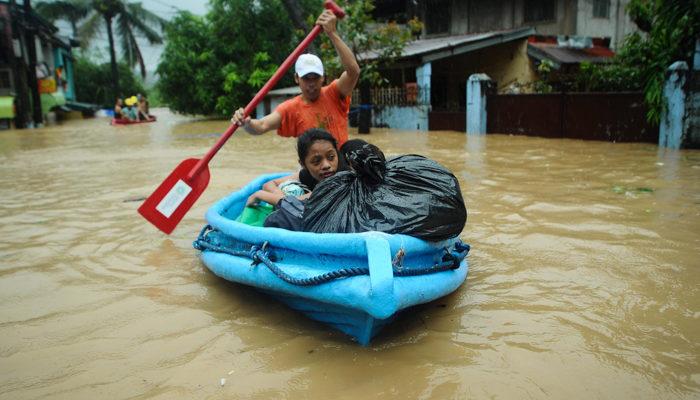 В Малайзии из-за наводнений эвакуированы более трёх тысяч человек