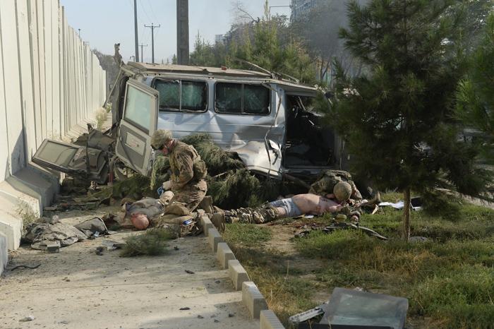 В Кабуле рядом с американским посольством прогремел взрыв