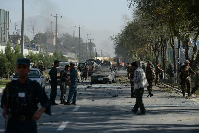 В Кабуле прогремел мощный взрыв