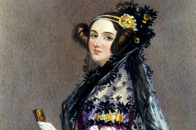 Акварельный портрет Ады Лавлейс (до замужества Ада Байрон), Альфред Эдвард Шалон. Она считается первым в мире программистом. Фото: Sir Henry Norris/Wikimedia Commons
