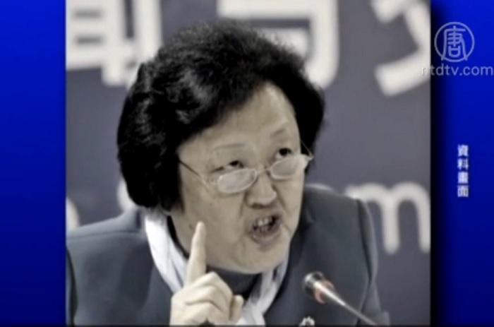 Чжао Байгэ, бывший секретарь парткома и заместитель главы Общества Красного Креста Китая. Фото: скриншот/NTDTV