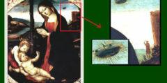 НЛО на картинах Ренессанса