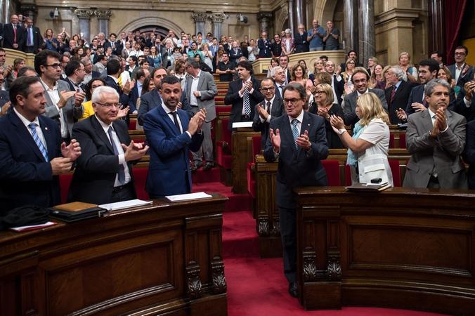 Каталония, Испания, референдум
