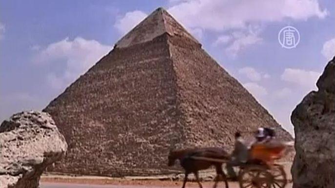 Курорты Египта всё ещё испытывают недостаток в туристах. Скриншот видео.