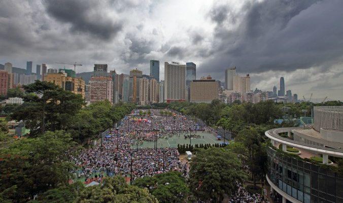 Китайскому режиму не справиться с Гонконгом