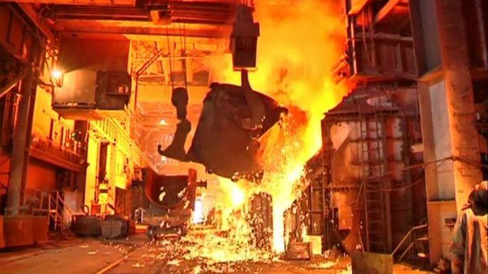 Металлургический комбинат Мариуполя опасается остановки производства. Скриншот видео