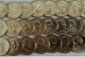 Набор монет президентов с сайта http://greatcoins.ru/