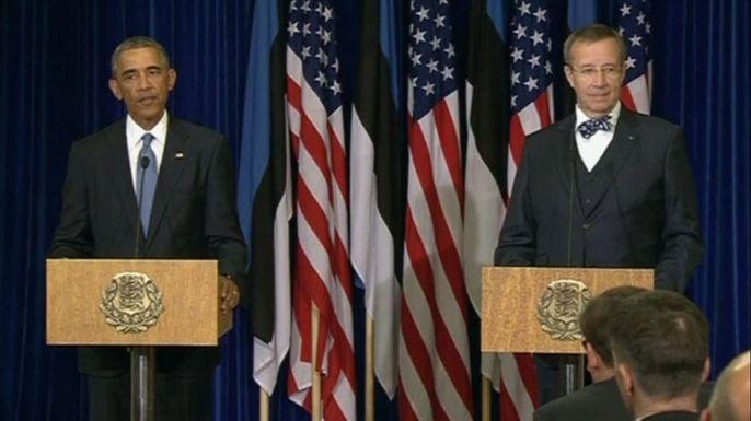 О перемирии на Украине говорить рано, - Обама. Скриншот видео