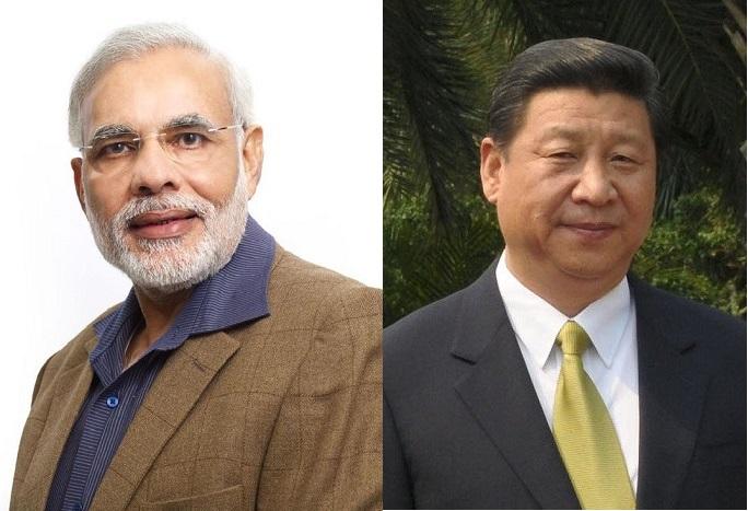 Премьер-министр Индии Нарендра Моди и китайский лидер Си Цзиньпин. Фото: скриншот/commons.wikimedia.org