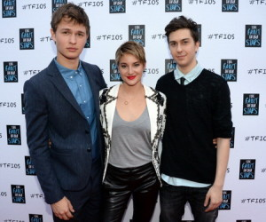 """The Fault In Our Stars"" Nashville Red Carpet And Fan Event With Shailene Woodley, Ansel Elgort, Nat Wolff And John Green"