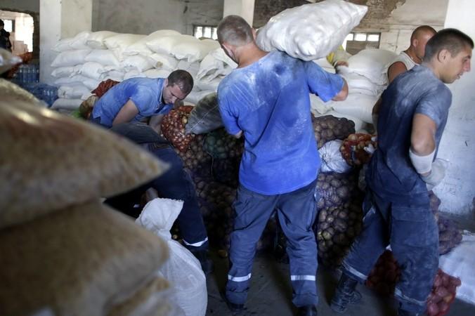 Украина, гуманитарная, помощь