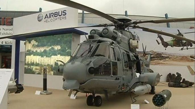 В Польше открылась Международная выставка оборонной промышленности. Скриншот видео.