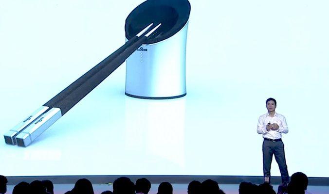 В Китае придумали умные палочки для еды