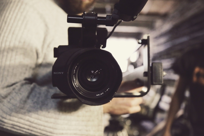 оператор с камерой