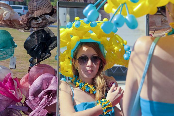 Городской фестиваль «Дамские шляпы» на Краснодарском ипподроме. Фото: Александр Трушников/Великая Эпоха
