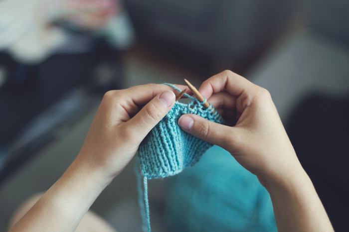 Вязание поможет бороться со стрессом