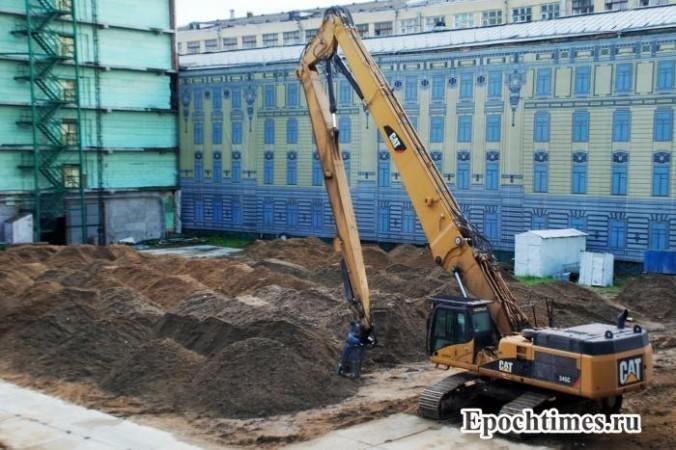 Стройки Москвы. Фото: Великая Эпоха