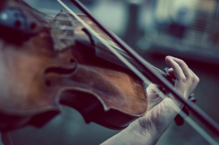 Литовская скрипачка во время операции играла на скрипке