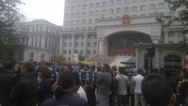 В семи китайских городах прошли протесты обманутых вкладчиков