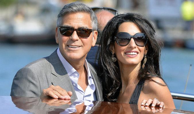 Кого-то разозлила свадьба Джорджа Клуни и Амали  Аламуддин