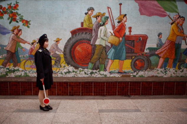 Что сейчас происходит в Северной Корее? Китайцы убеждены, что в соседнем государстве произошёл переворот. Фото: Feng Li/Getty Images