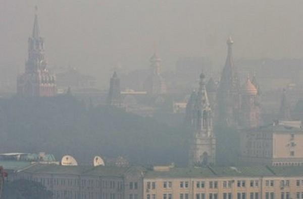 Жара и дым в 2010 году увеличили смертность в Москве в 2 раза. Фото: Andrey SMIRNOV /AFP /Getty Images
