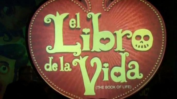"""В Мехико прошла премьера мультипликационного фильма """"Книга жизни"""", продюсером которого стал Гильермо дель Торо. Скриншот видео."""