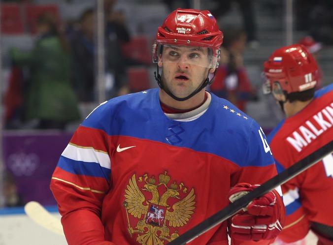 Хоккеист ЦСКА Александр Радулов. Фото: Bruce Bennett/Getty Images